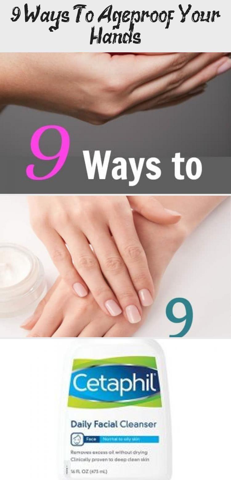 9 Möglichkeiten, Ihre Hände alterungsbeständig zu machen - Schönheit