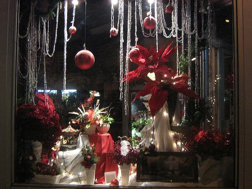Storefront Decorations Christmas Elegant Now This Is