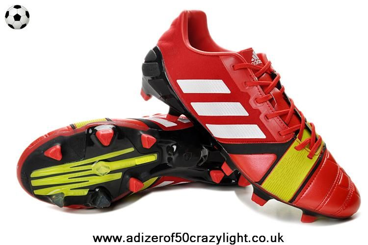 new styles d5632 b3448 ... canada authentic adidas nitrocharge 3.0 trx fg red white electricity  fbc49 afbdb