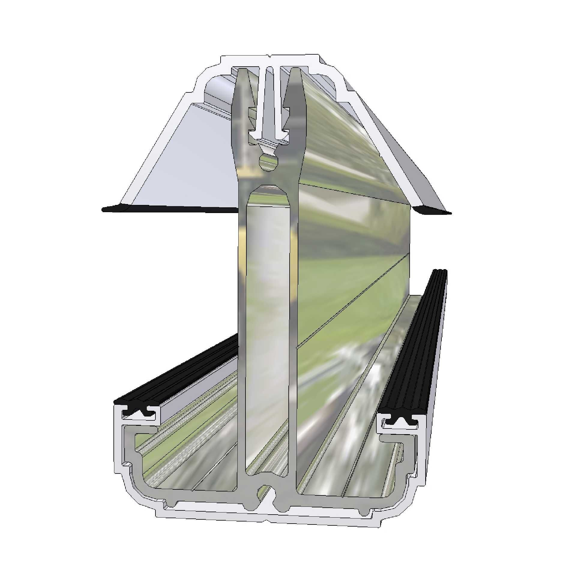 Glazed Roof Components Self Supporting Glazing Bars For 24mm 25mm And 35mm Glazing Conservatory Roof Roof Conservatory
