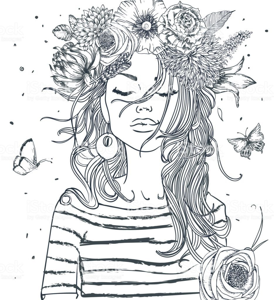 Vsco Girl Coloring Pages Easy | Best Coloring Pages