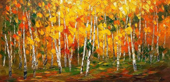 Oil Painting, Canvas Art, Framed Art, Original Art, Abstract Art ...