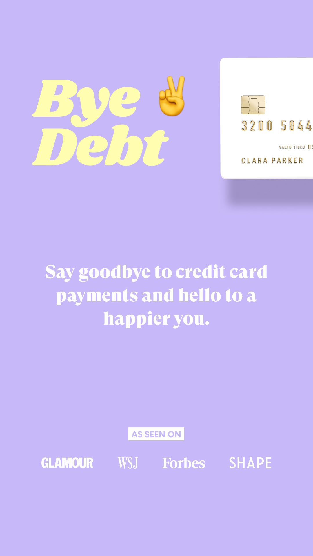 Say Goodbye To Credit Card Payments And Hello To A Happier You Low Interest Rates One Monthly Payment No Hidde Financial Wellness Loan Payoff Personal Loans