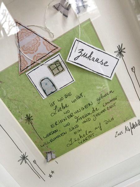 Bild zuhause von wg art wiebke gottschalk auf wg art zuhause geschenke und - Geldgeschenk haus basteln ...