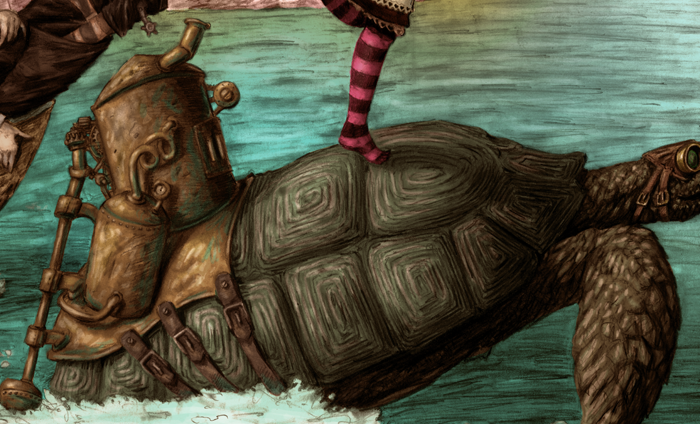 steampunk turtle - Google Search