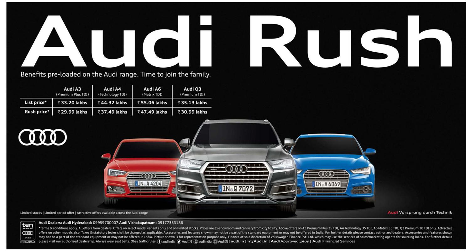 audi campaigns sedan offers ajax