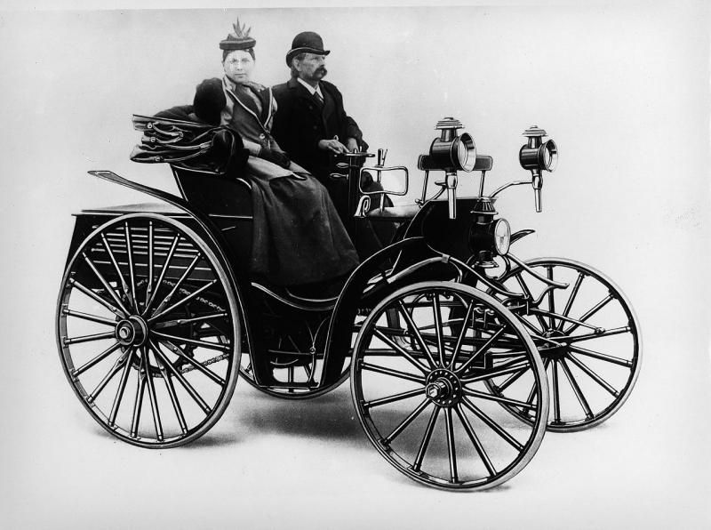1893-96 Benz Patent-Motorwagen Victoria 2.jpg; 800 x 596 (@97 ...