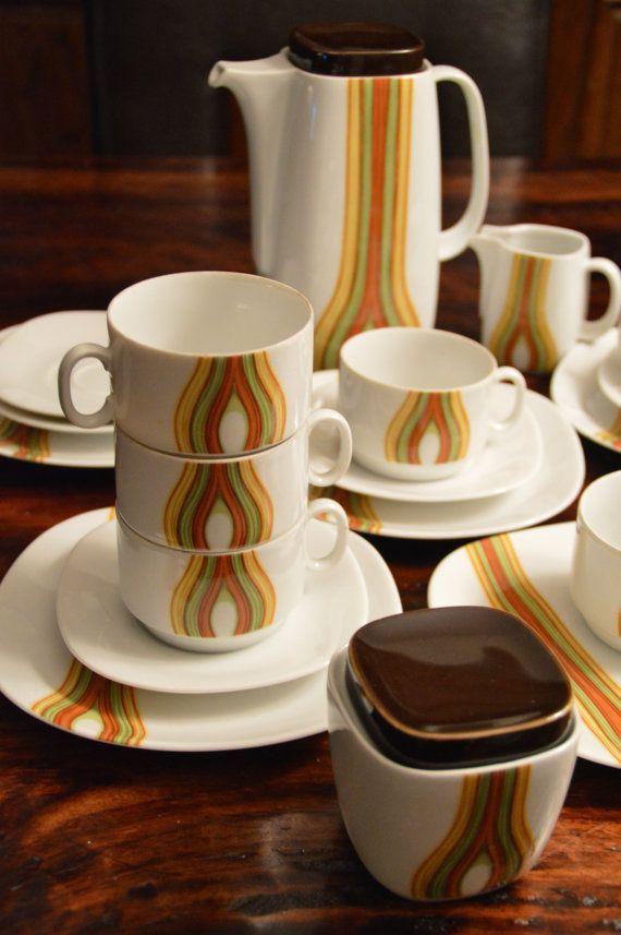 modern coffee sets mid century danish