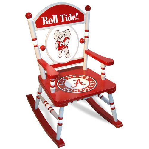 Superbe University Of Alabama Rocking Chair From PoshTots