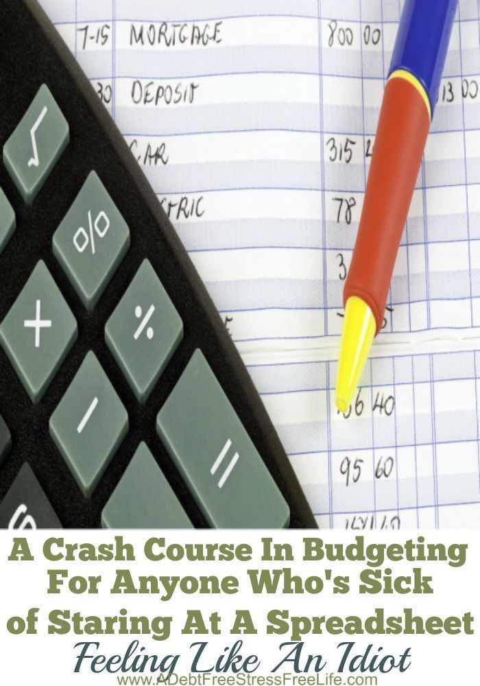 A Crash Course In Budgeting For Anyone Who\u0027s Sick of Staring At A