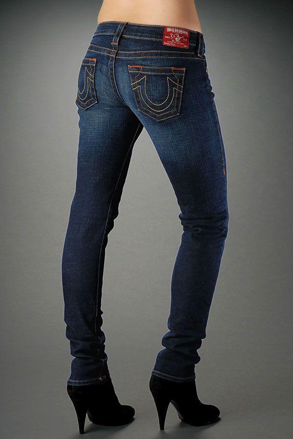 True Religion Jeans Women's Becky Dark Pony Express | Style ...