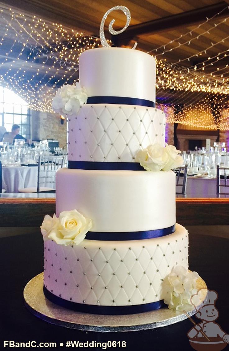 Design W 0618 Fondant Wedding Cake 12 10 8 6 Serves 120 Quilt Pattern Wedding Cake Quilted Wedding Cake Designs Buttercream Fondant Wedding Cakes