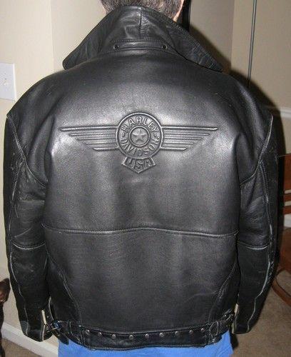 c354d943f Harley Davidson Leather Jacket Fatboy   eBay ... OMG! way cool ...