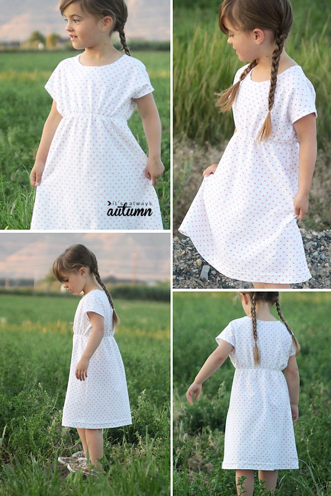 the play-all-day dress: free girls\' dress pattern in 6 sizes   nähen ...