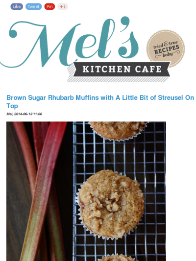 Mel S Kitchen Cafe Recipe Rhubarb Muffins Scones And Jam Buttermilk Recipes