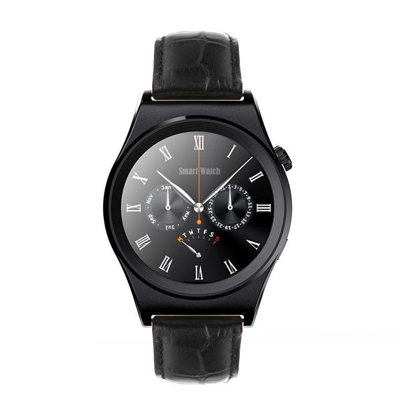 2016 neue X10 Smart Uhr Mit Pulsmesser Bluetooth 4,0 Leder Smartwatches für Apple/Android/Samsung telefon PK F69 U8 //Price: $US $60.45 & FREE Shipping //     #smartwatches
