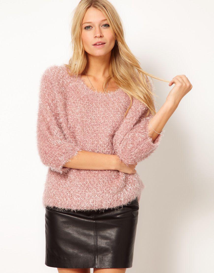 ASOS Fluffy Oversized Sweater $49.25 | STYLE UNDER $100 ...