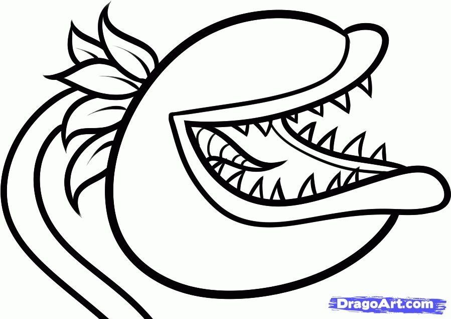 Plants Vs Zombies Coloring Pages 15 Pictures Colorine 14022 Plants Vs Zombies Coloring Pages Chomper Plants Plant Zombie Coloring Pages Plants Vs Zombies