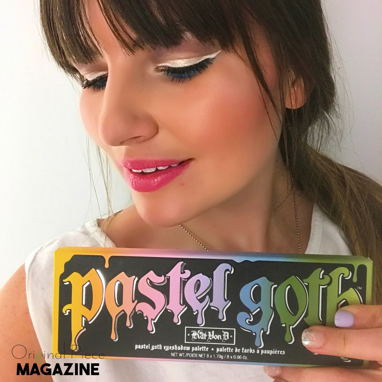 Pastel Goth was one of the first makeup palettes I got