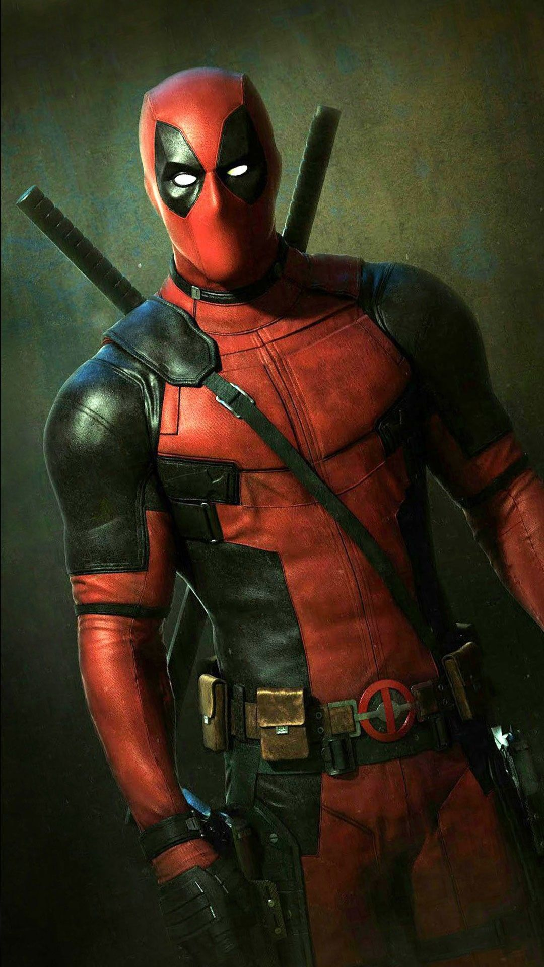 Deadpool From The Movie Wallpaper Background 1080x1920