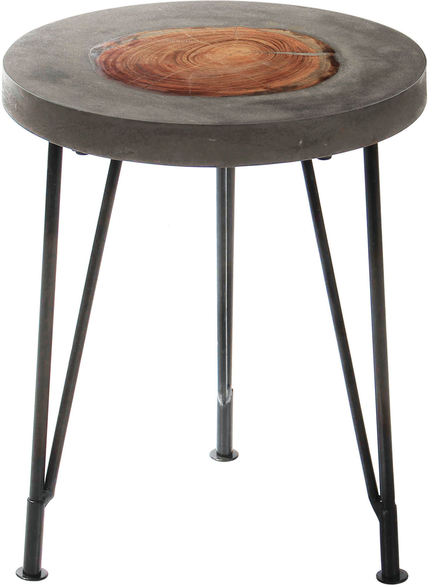 Oakshade accent table in black renwil home gallery stores
