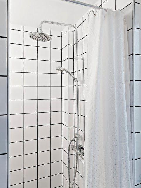 White Retro Square Tiles Bathroom Google Search White Square