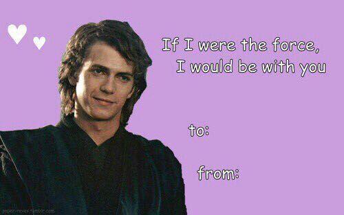 Valentines Star Wars Memes Star Wars Valentines Valentines Tumblr