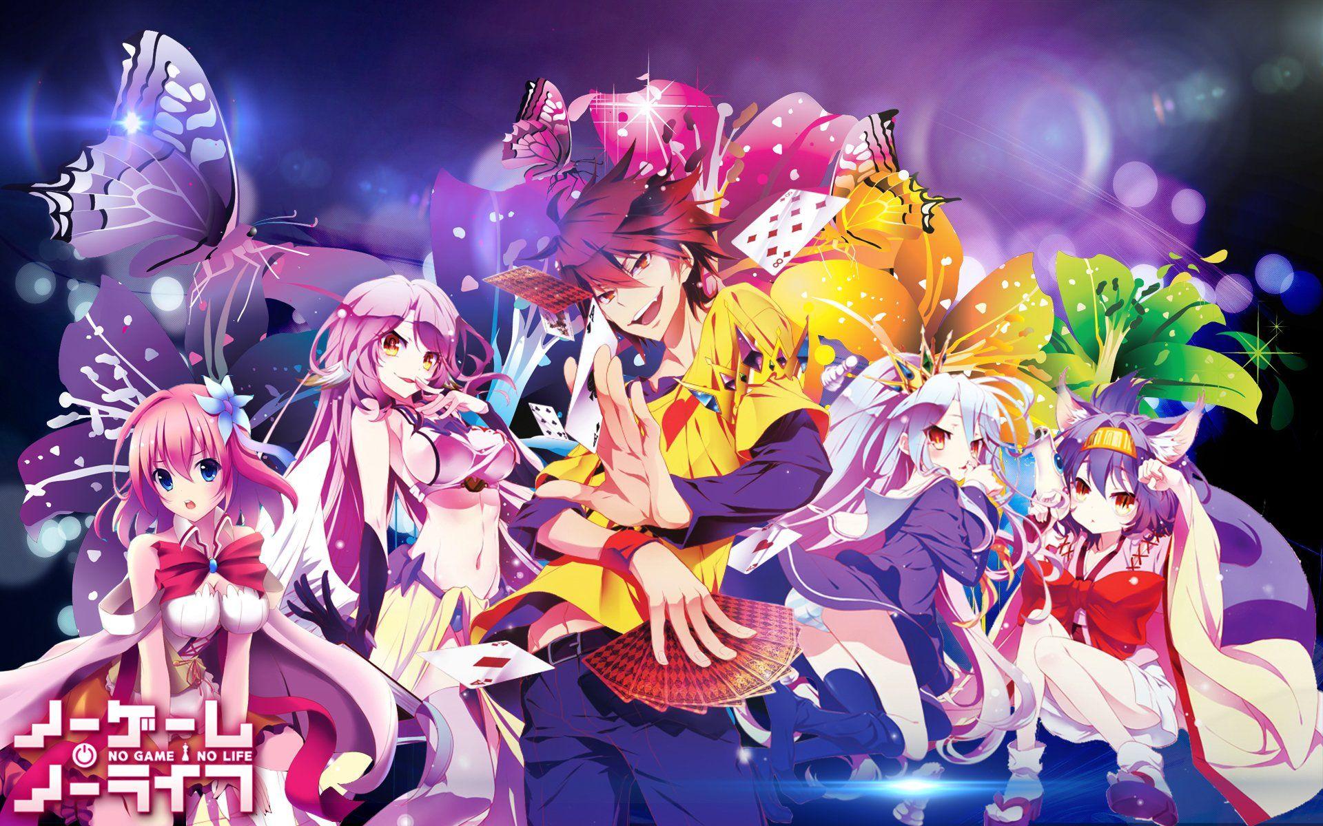 Anime No Game No Life Stephanie Dola Jibril No Game No Life Sora No Game No Life Shiro No Gam Juego De La Vida Arte De Anime Fondos De Pantalla De