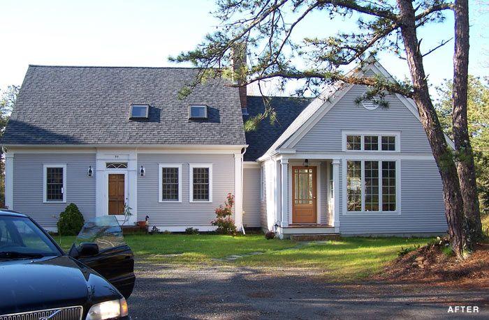 Cape Cod House Addition Ideas Part - 19: Cape Cod Kitchen Addition Exterior | QUALITY NEW HOME CONSTRUCTION AND HOME  REMODELING ON CAPE COD
