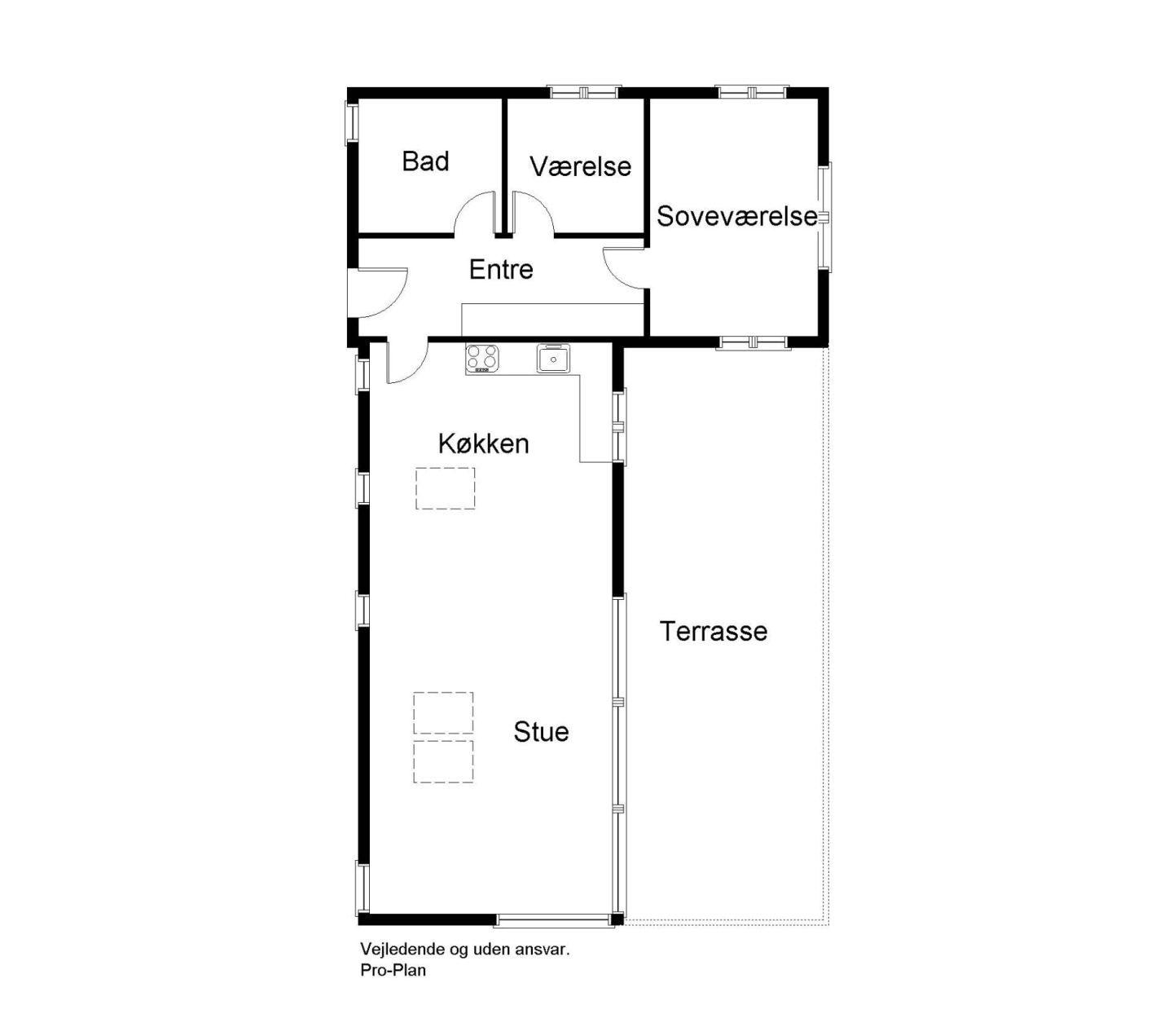 Gallery Vacation Cottage In Denmark By Mon Huset Cottage Floor Plans Vacation Cottage Prefab Cabins
