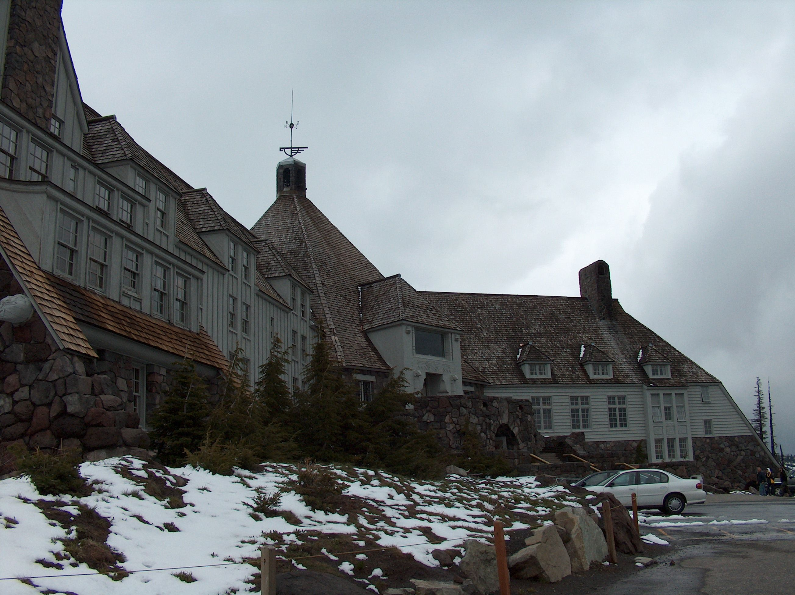 The Shining Film Location For Overlook Hotel Timberline Lodge In Mount Hood Oregon