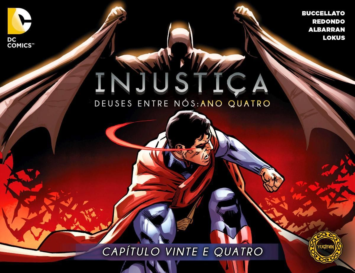 HQBR - Injustice - Gods Among Us - Ano 4 - Capitulo #24