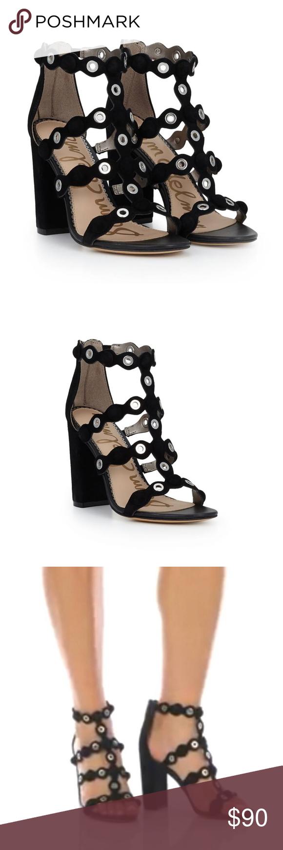 2bb7c37cff9f BNIB Sam Edelman Yuli Strappy Heeled Sandals Fun and fabulous