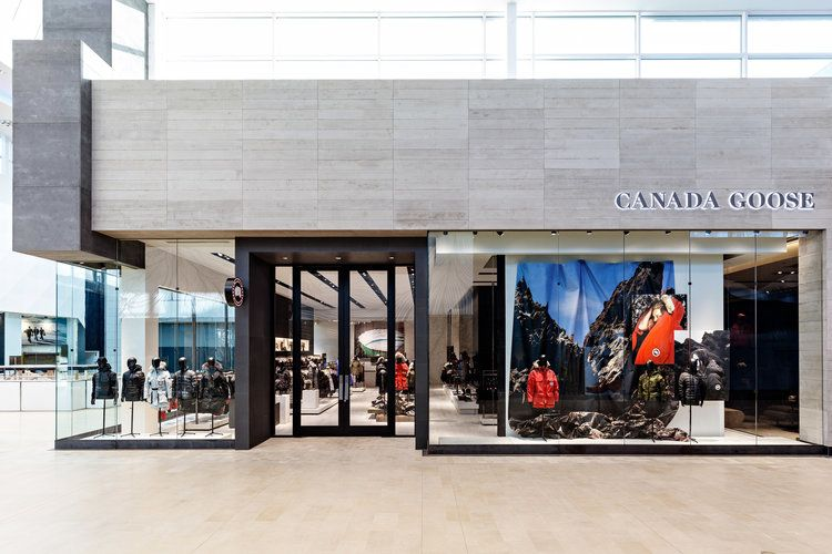 Canada Goose Announces Standalone Calgary Flagship It Will Be The 2nd Freestanding Store Location In Canada Shop Window Design Shop House Plans Canada Goose
