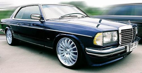 A Very Stately Slammed Mercedes Benz Coupe Courtesy Of The