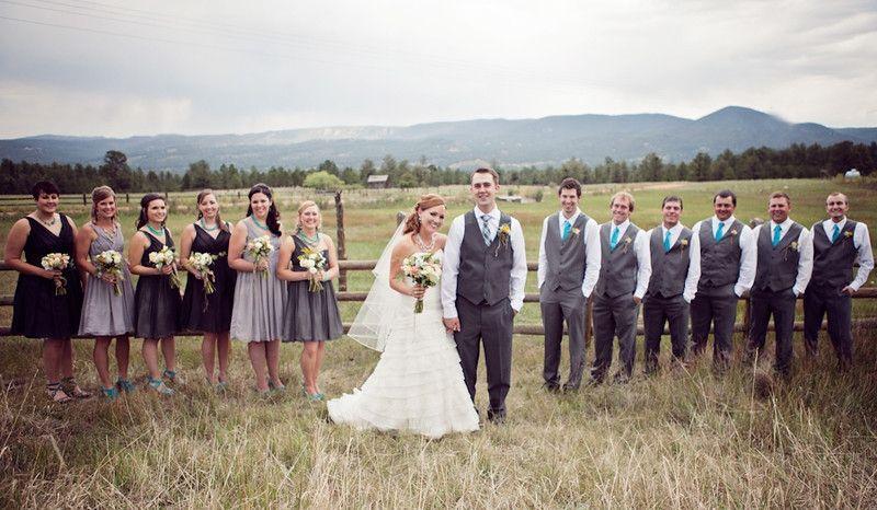 Rustic Mountain Wedding #weddings #brides #mountainweddings #rusticbrides