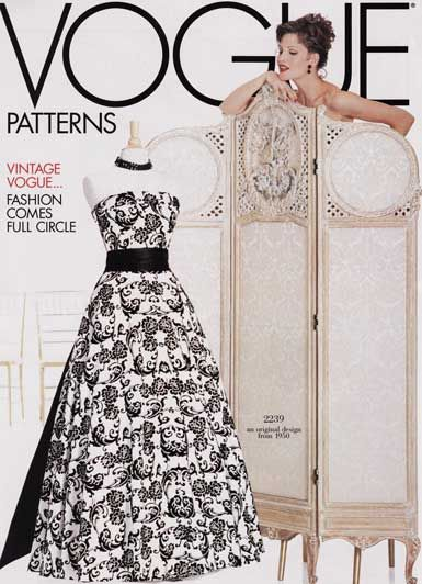 Vintage Vogue pattern v2239 I love this pattern, but it is out of ...