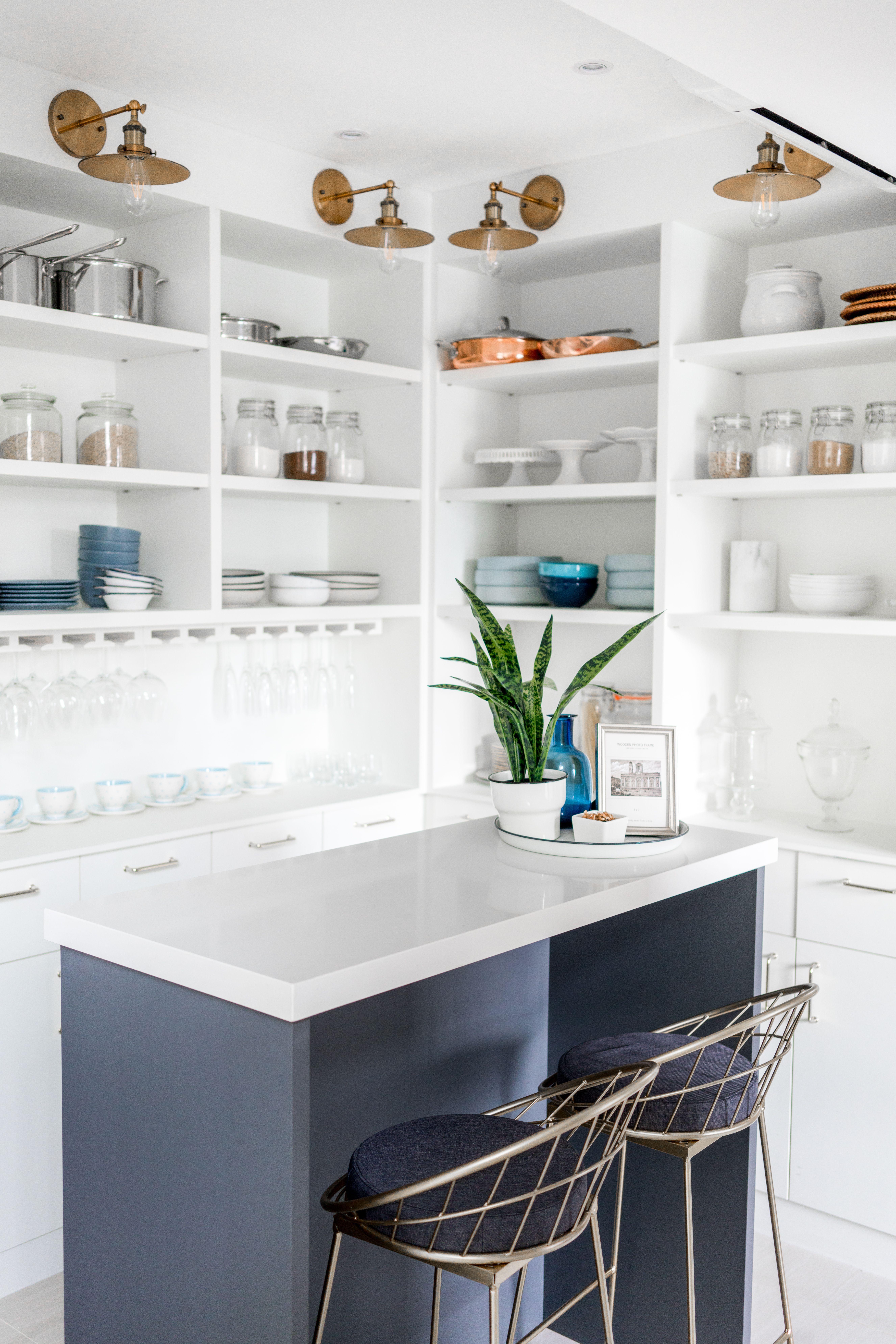 created by styledbypt shelfie clean organized island morning coffee pantry organization on kitchen organization dishes id=43648