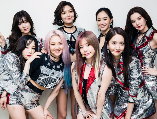 170813 SNSD @ SBS Inkigayo, credit SBS PD Note