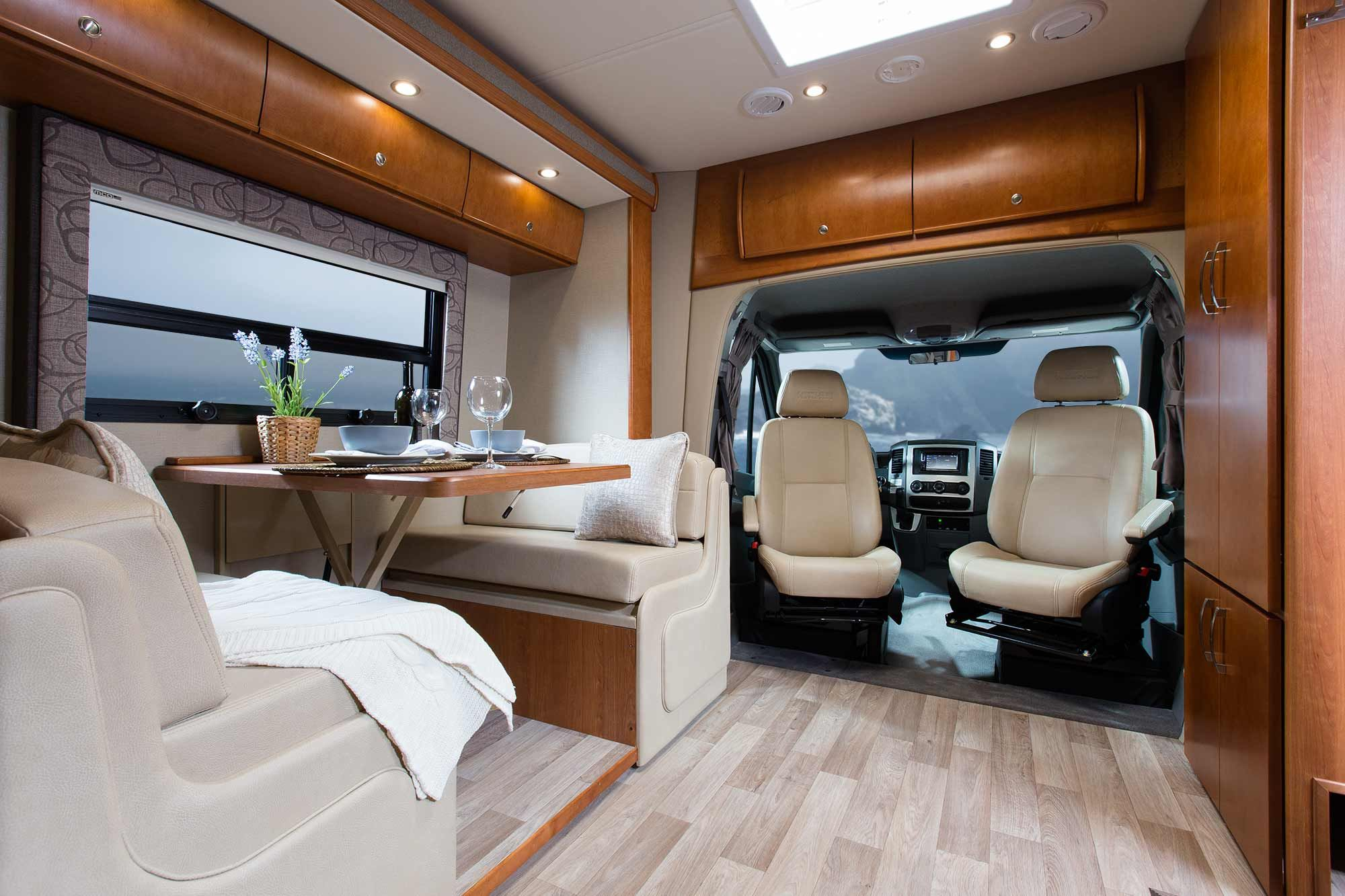 Luxury rv living for Motorhome interior designs