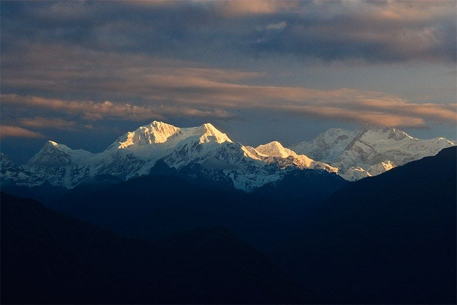 Sunrise kisses the Kanchenjunga massif: http://www.wanderlust.co.uk/mywanderlust/members/jamie-furlong/photos/kangchenjunga_19050/75168 (Image by myWanderlust member Jamie Furlong)