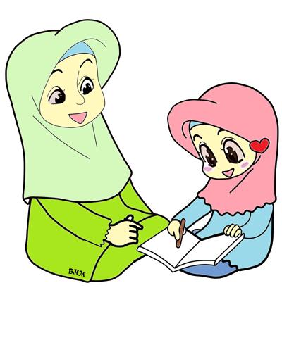 Gambar Kartun Ibu : gambar, kartun, ✿~Bunga, Hati~♥:, FREEBIES, DOODLE, PEREMPUAN., Kartun,, Kartun, Hijab,, Gambar