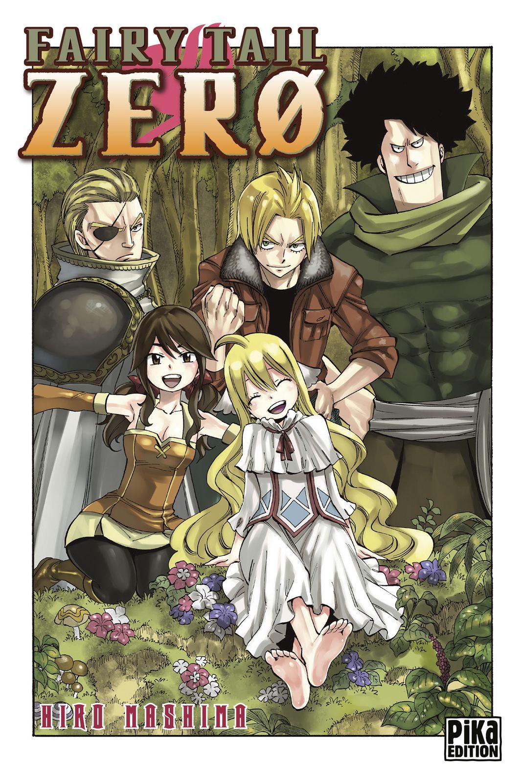 Fairy Tail Zerø Mavis, Zera, Yuri, Warrod and Precht