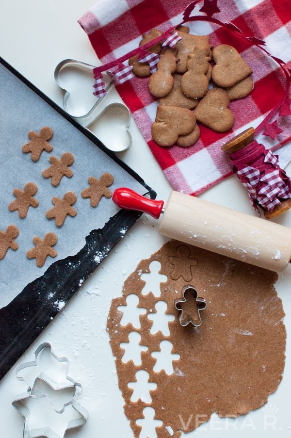 Gluten free gingerbread men are made with buckwheat flour. Scandinavian pepparkakor are a great fun to bake with kids!