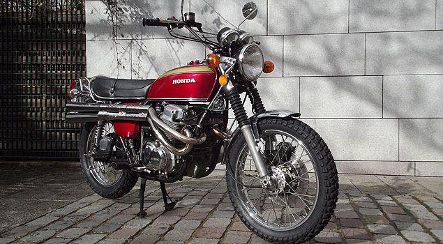 Honda Cb750 Scrambler Www Generation Fr Un Site De