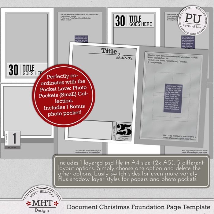 MhtdesignsDocumentChristmasFoundationPageTemplate  Digital