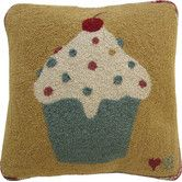 Found it at Wayfair - Cupcakes Square Pillow