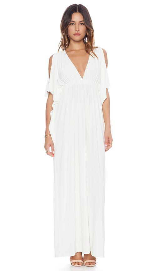 4407930120ab7 ARS1:T-Bags LosAngeles Open Shoulder Maxi Dress | REVOLVE | THAT ...