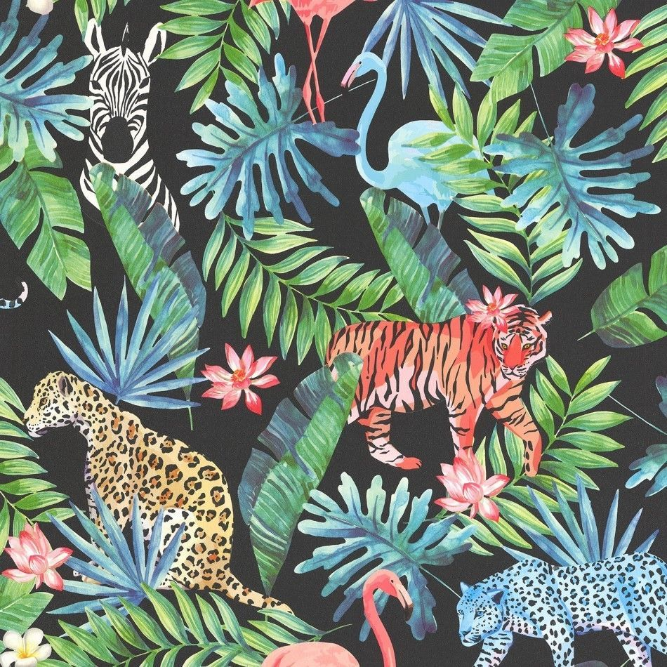 Image result for zebra flamingo wallpaper Jungle