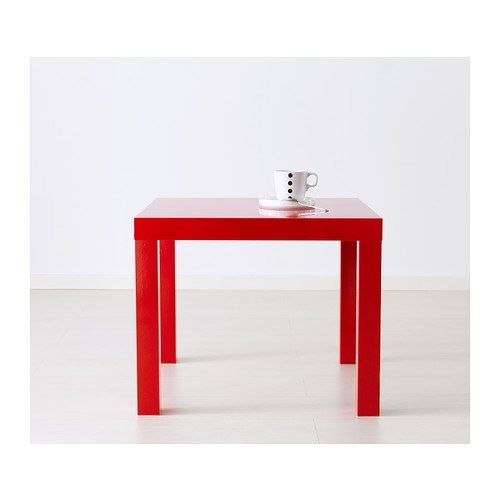 9f396c19d Ikea Lack Side Table with Extension Legs High gloss red ** Click image to  review more details.Note:It is affiliate link to Amazon.